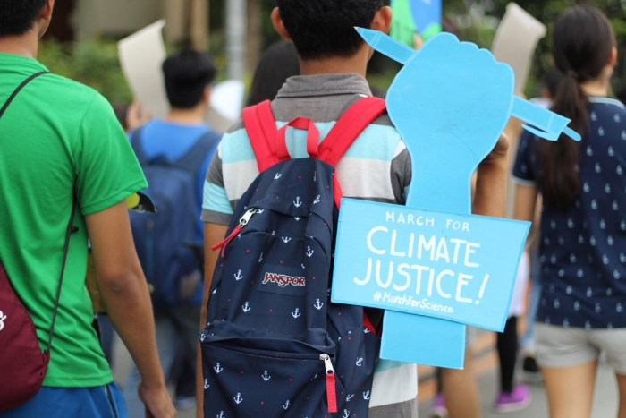Climate justice now!-CCNCI