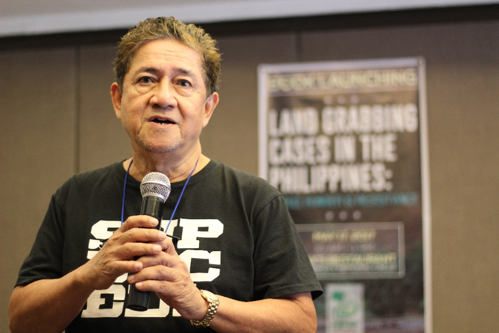 IN PHOTOS: New book on landgrabbing launched