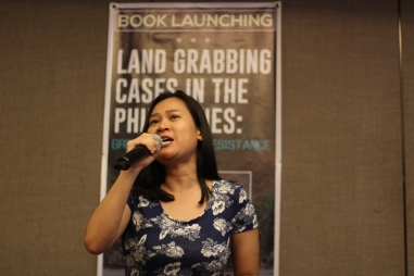 "Ms. Angeli Mercado sings ""Buhay at Bukid."""