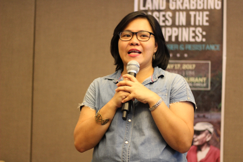PNFSP Advocacy Officer Renmin Crisanta Vizconde.