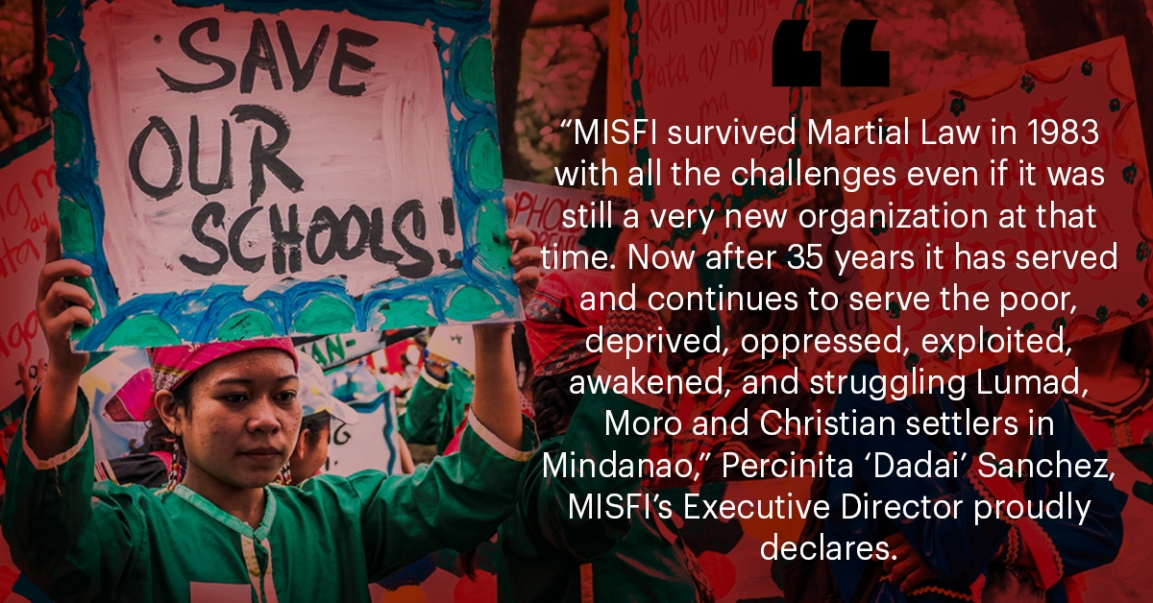 MISFI: Providing Free Education to Lumad Children Despite Attacks
