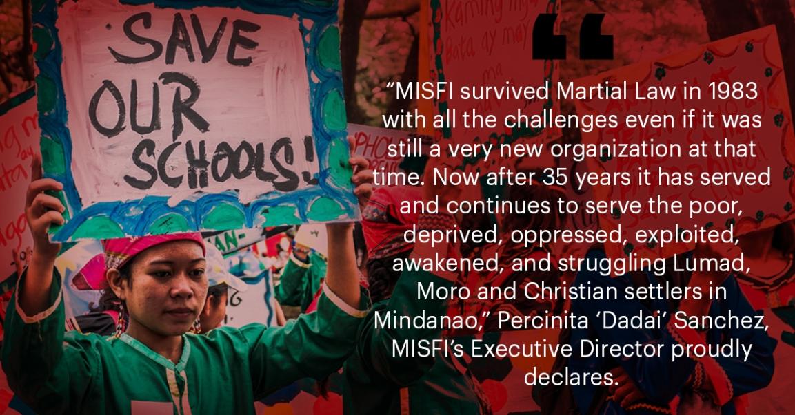 MISFI: Providing Free Education to Lumad Children DespiteAttacks