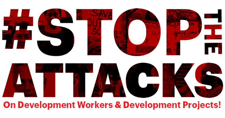 Illegal Arrest and Detention of Development Workers: The Case of Benito Quilloy and RitaEspinoza